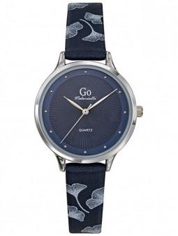 montre femme, montre bleue, montre tendance 2021, montre fleurie, montre Go Mademoiselle 699402