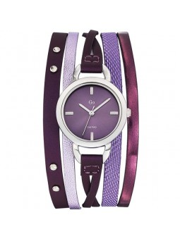 Montre femme Go violette multi-lanières 698551