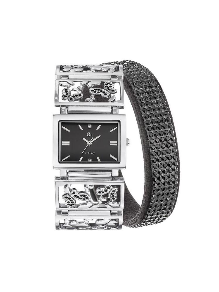 Montre femme Go bracelet argenté ajouré Série limitée