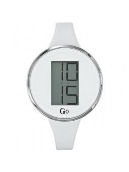 Montre femme Go digitale blanche 697615