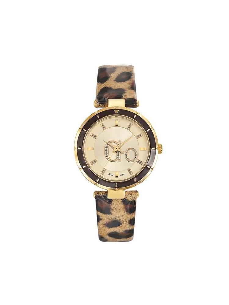 Montre femme Go léopard beige 698268