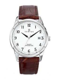Montre Homme - Quartz - Bracelet Cuir - Certus 610709