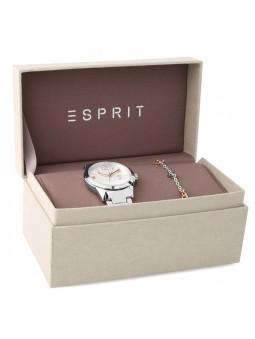 Coffret Montre femme Esprit Lizzie Silver+ bracelet