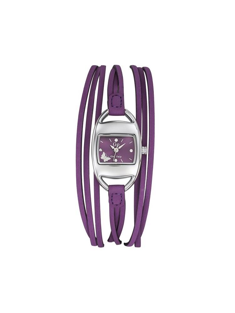 Montre femme Go multi lanières violette