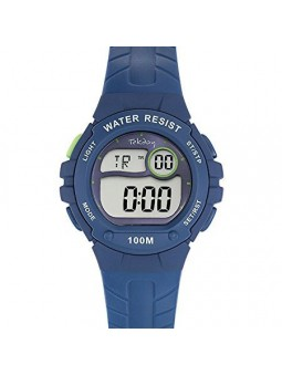 Montre enfant Tekday digitale bleue