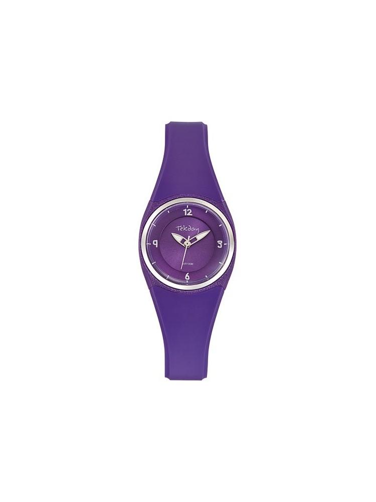 Montre violette pas chère - Tekday 653671