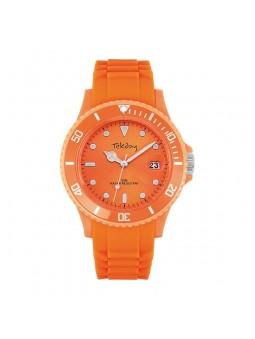Montre orange pour Femme - Tekday 652914