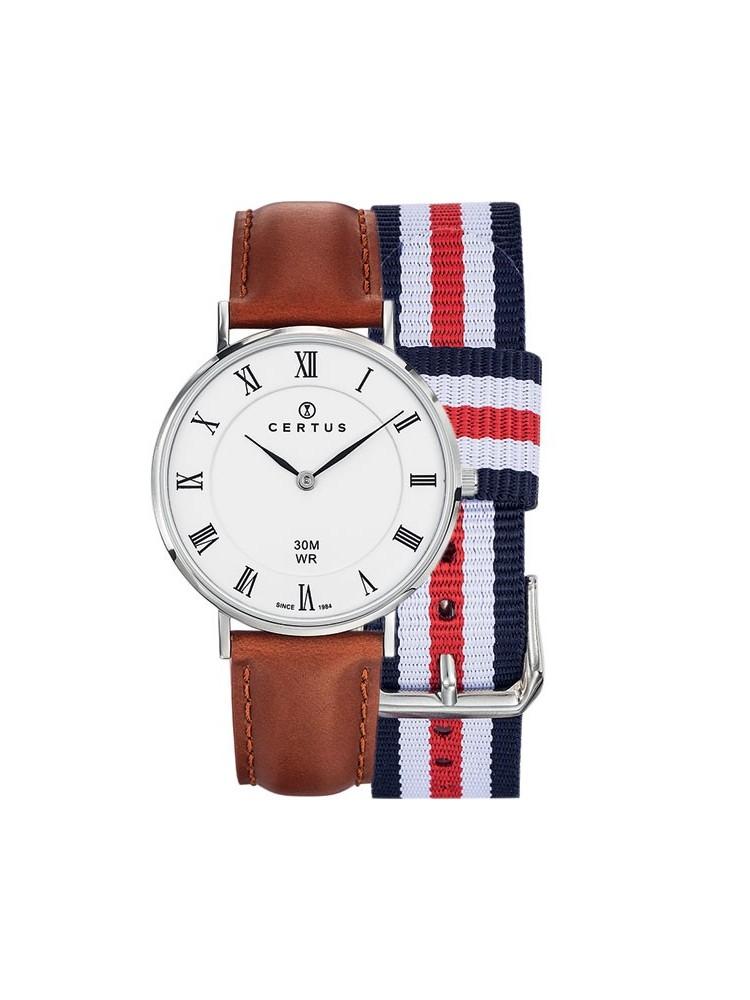 bracelet cuir de montre homme