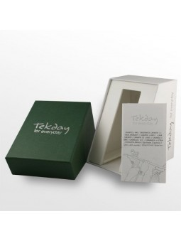 Montre noire en silicone - Tekday 652927