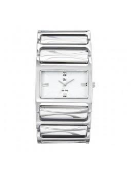 Montre Femme - Large montre blanche - Go 694597