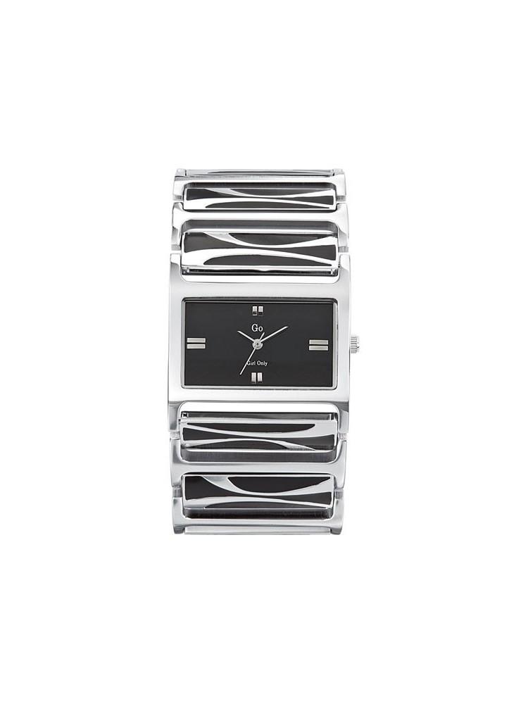 Montre Femme - élégante montre noire - Go 694598