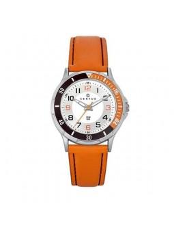 Montre Enfant - noir et orange - Certus 647520