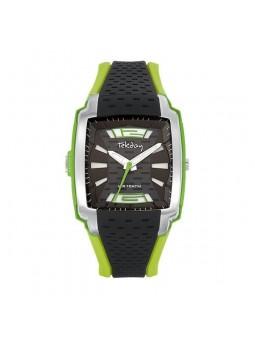 Montre homme - noire et verte - Tekday 655727