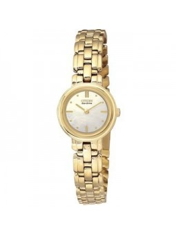 Montre femme Citizen couleur or