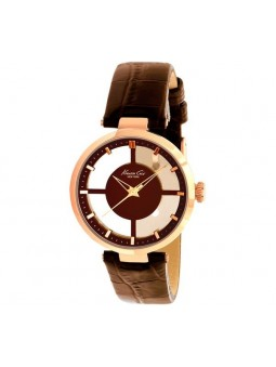 Montre femme Kenneth Cole revetement IP or rose