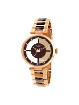 Montre femme Kenneth Cole polycarbonate écailles de tortue