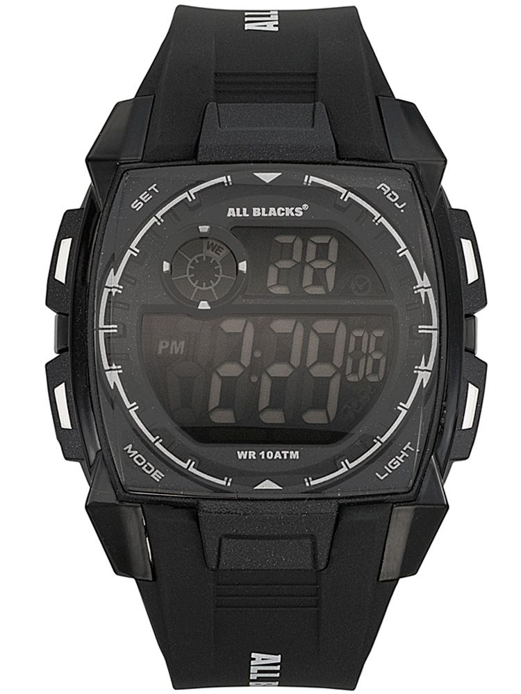 Montre All Blacks style digital