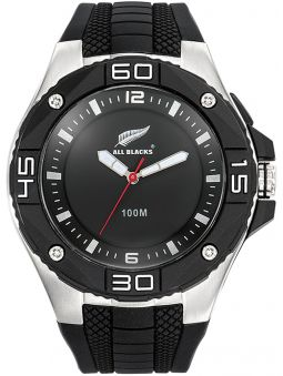 Montre homme All Blacks noire sport