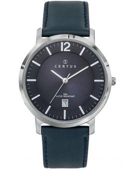 Montre homme Certus bracelet bleu fonction calendrier