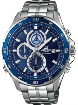 Montre homme Edifice Illuminator bleue