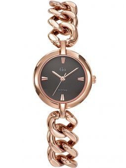 Montre femme Go Girl Only dorée rose bracelet gourmette