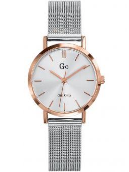 Montre femme Go bracelet milanais boite dorée