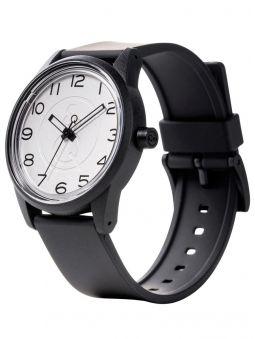Montre Q&Q  solaire bracelet résine noir
