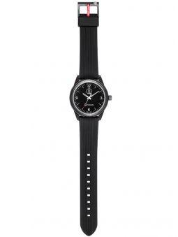 Montre Q&Q solaire  bracelet noir cadran noir