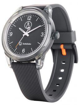 Montre Q&Q solaire bracelet gris cadran gris