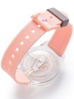 Montre Q&Q solaire bracelet rose clair