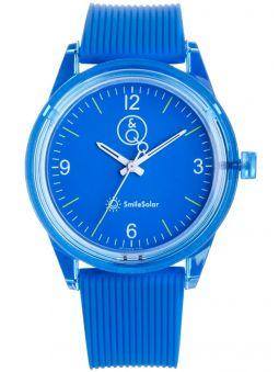 Montre Q&Q  solaire bracelet bleu
