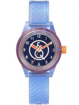 Montre enfant Q&Q solaire bracelet bleu